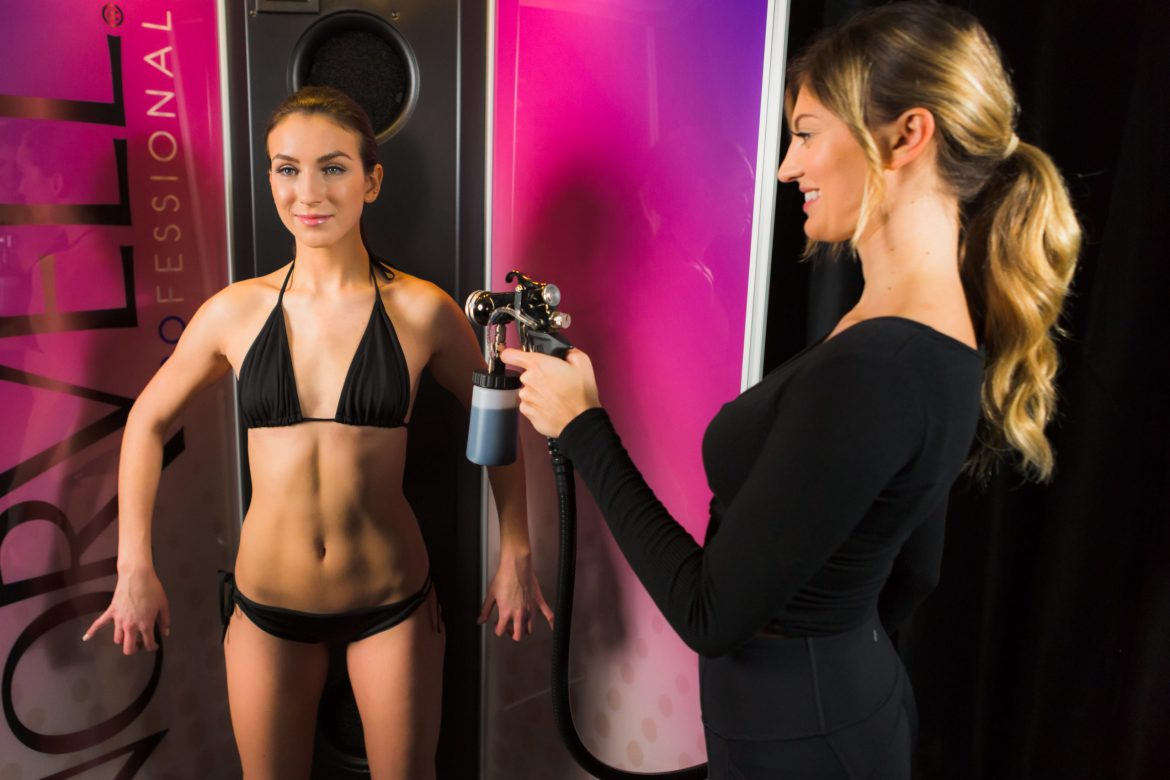 How long after a spray tan can I wear tight clothes?